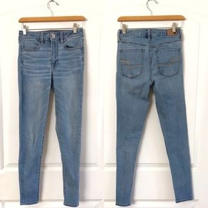 AEO American Eagle Outfitters High Rise Jeans